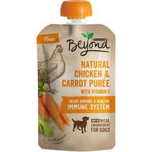 Purina Beyond Natural Meal Enhancement Mix for Dogs Chicken and Carrot Puree