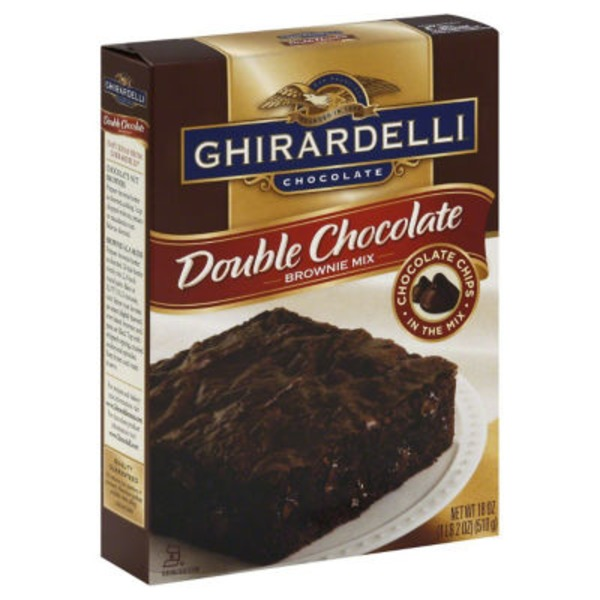 Ghirardelli Chocolate Double Chocolate Brownie Mix