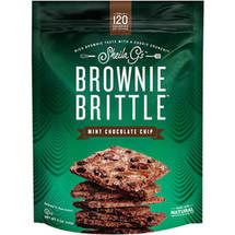 Sheila G's Mint Chocolate Chip Brownie Brittle