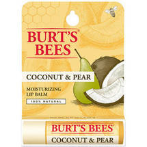 Burt's Bees Lip Balm Coconut and Pear Blister Box