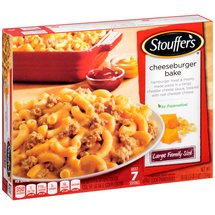 Stouffer's Large Family Size Cheeseburger Bake