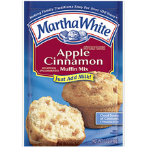 Martha White Muffin Mix Apple Cinnamon
