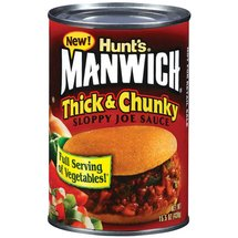 Manwich Thick & Chunky Sloppy Joe Sauce