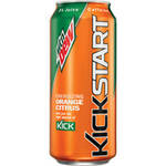 Mountain Dew Kickstart Orange Citrus