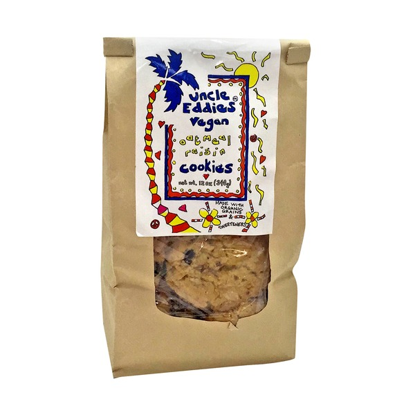 Uncle Eddies Vegan Oatmeal Raisin Cookies