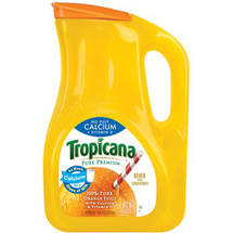 Tropicana Pure Premium No Pulp Calcium   Vitamin D Orange Juice