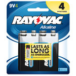 Rayovac Alkaline Value Pack 9V Batteries