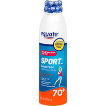 Equate Sport Sunscreen Continuous Spray SPF 70