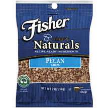 Fisher Chefs Naturals Pecan Chips
