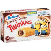 Hostess Twinkies with Chocolate Creamy Filling