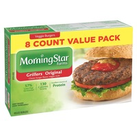 Morning Star Farms Grillers Original Veggie Burgers