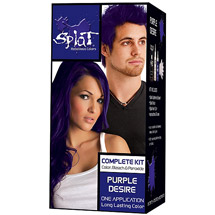 Splat Semi Perm Hair Color Purple Desire