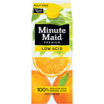 Minute Maid Premium Low Acid Pulp Free Orange Juice