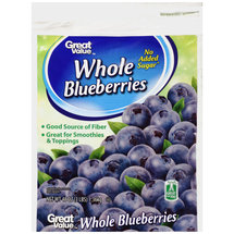 Great Value Whole Blueberries