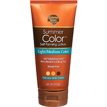 Banana Boat Summer Color Light/Medium Self Tanning Lotion