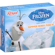 Royal Disney Frozen Summer Berry Punch Gelatin