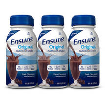 Ensure Rich Dark Chocolate Balanced Nutrition Shake 6 Ct/