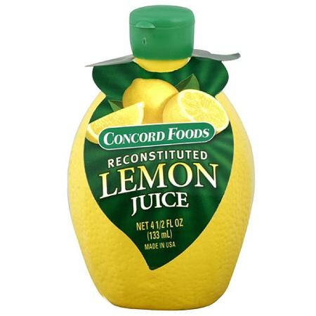 Concord Foods Lemon Juice