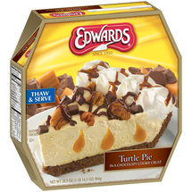 Edwards Chocolate Turtle Pie