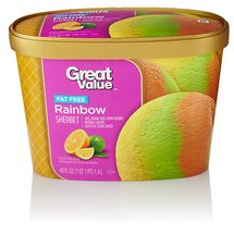 Great Value Rainbow Sherbet