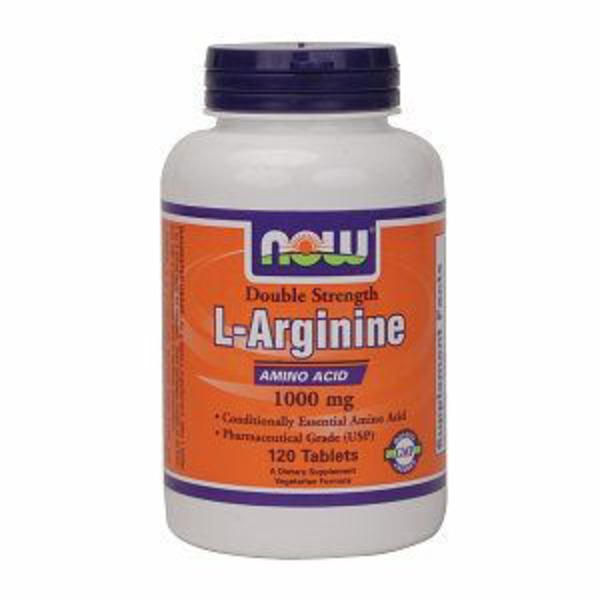 Now L-Arginine 1000 mg Supplement Capsules