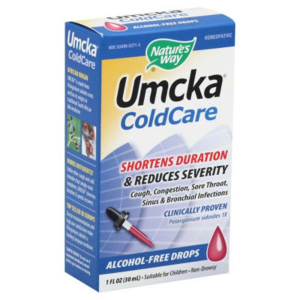 Nature's Way Umcka ColdCare Alcohol-Free Drops