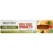 Wild Oats Organic Whole Wheat Spaghetti Pasta