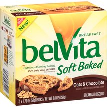 Nabisco belVita Oats & Chocolate Soft Baked Breakfast Biscuits