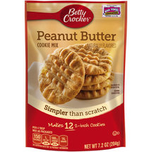 Betty Crocker Snack Size Peanut Butter Cookie Mix