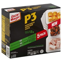 P3 Turkey Breast/Colby & Monterey Jack/Almonds Portable Protein Pack