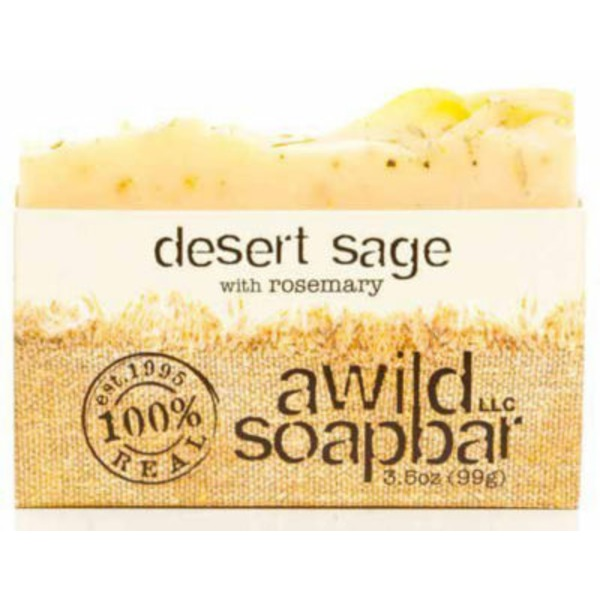 A Wild Soap Bar Desert Sage Soap