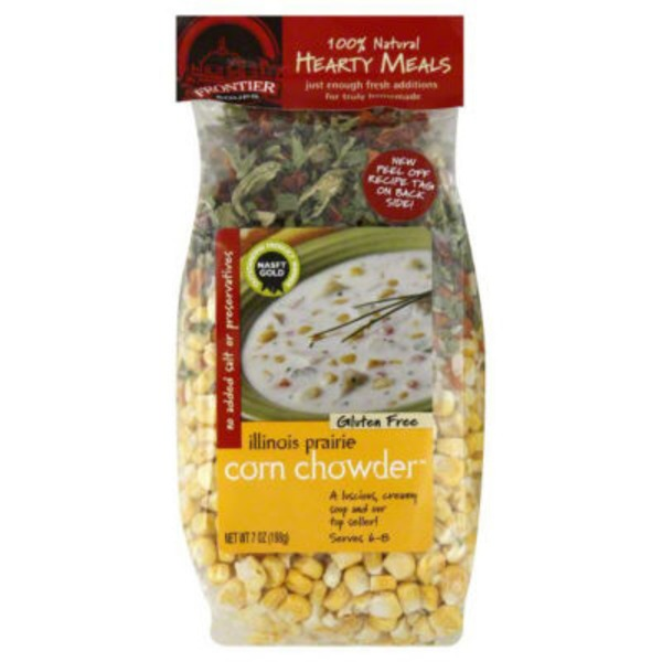 Frontier Soups Chowder Mix, Corn, Illinois Prairie