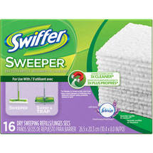 Swiffer Sweeper With Febreze Dry Sweeping Refill Cloths Fresh Scent Lavender Vanilla & Comfort