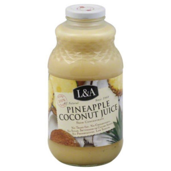 L&A Juice, Pineapple Coconut