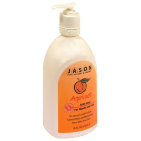 Jason Hand Soap Pure Natural Glowing Apricot