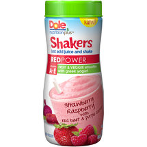 Dole Nutrition Plus Shakers Red Power Fruit & Veggie Smoothie