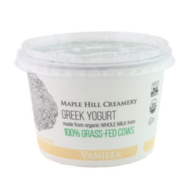 Maple Hill Creamery Vanilla Greek Yogurt