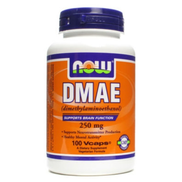 Now DMAE 250 mg dimethylaminoehtanol V-Caps