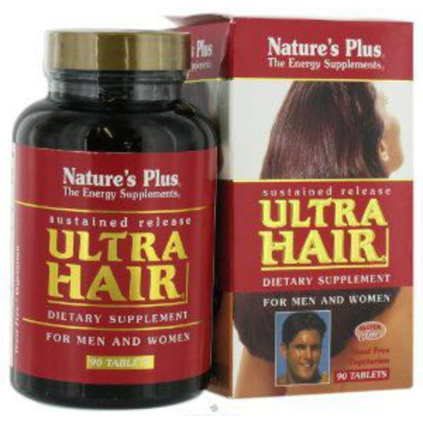 Nature's Plus Ultra Hair for Men and Women Sustained Release Tablets