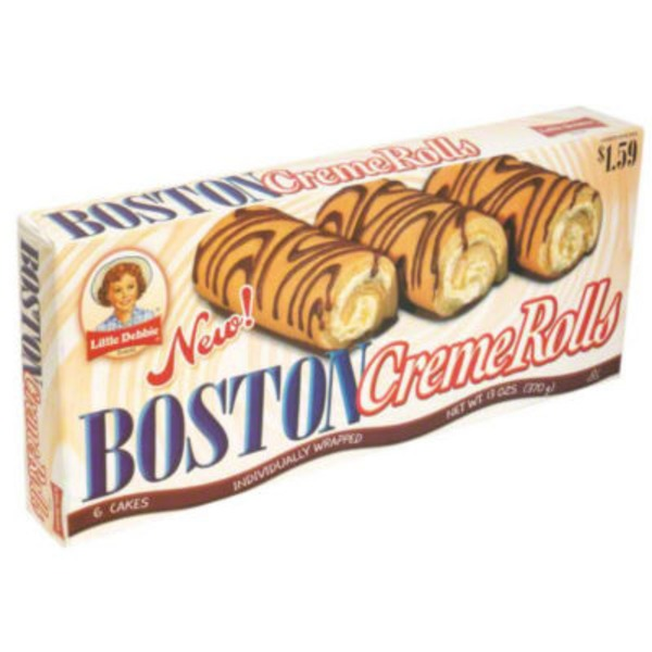Little Debbie Boston Creme Rolls