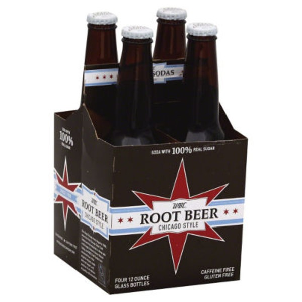 WBC Root Beer Chicago Style - 4 PK