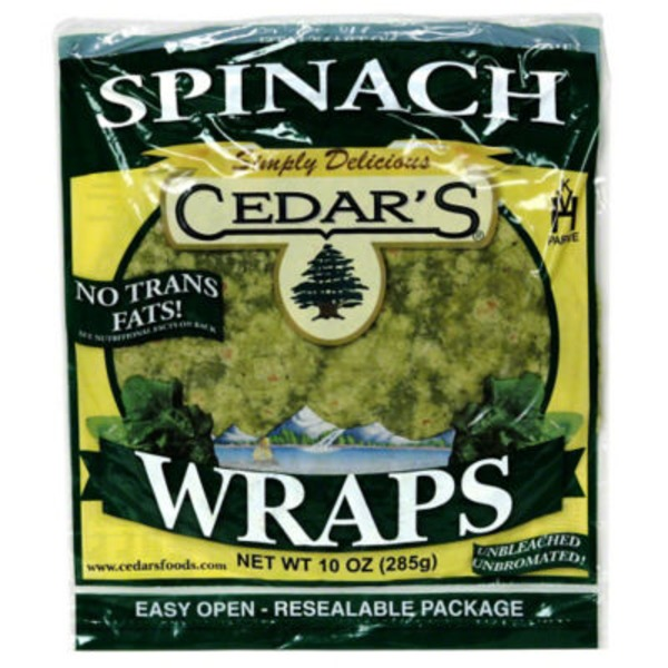 Cedar Wraps Spinach