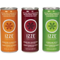 Izze Apple/Clementine/Blackberry Variety Pack Sparkling Juice