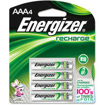 Energizer - Rechargeable AAA Batteries -