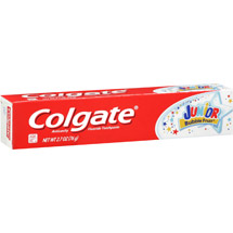 Colgate Junior Anticavity Fluoride Bubble Fruit Toothpaste for Kids