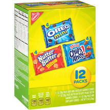 Nabisco Munch Packs