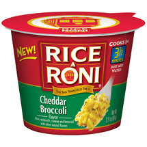 Rice-A-Roni Cheddar Broccoli Flavor Microwave Cup