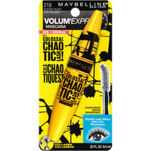 Maybelline Colossal Chaotic Lash Waterproof Mascara Blackest Black