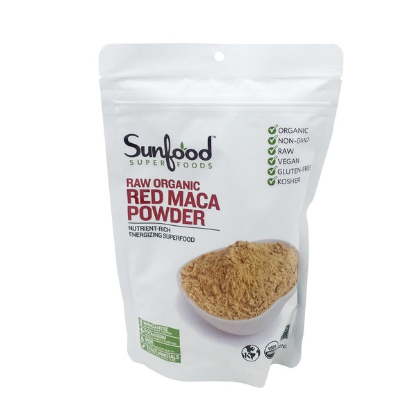 Sunfood Raw Maca Red Powder
