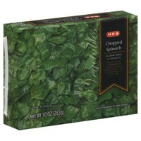 H-E-B Frozen Chopped Spinach